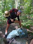 Kate (Ringleader) finds Trail Magic!