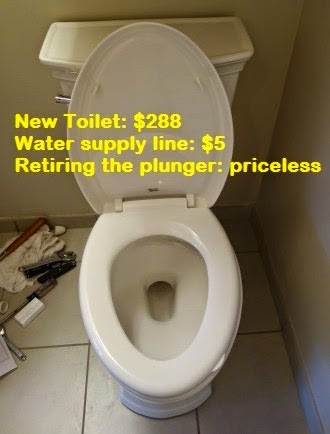 DIY project - American Standard VorMax 1.28 gpf toilet