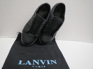 Lanvin Felted Wool Sneakers