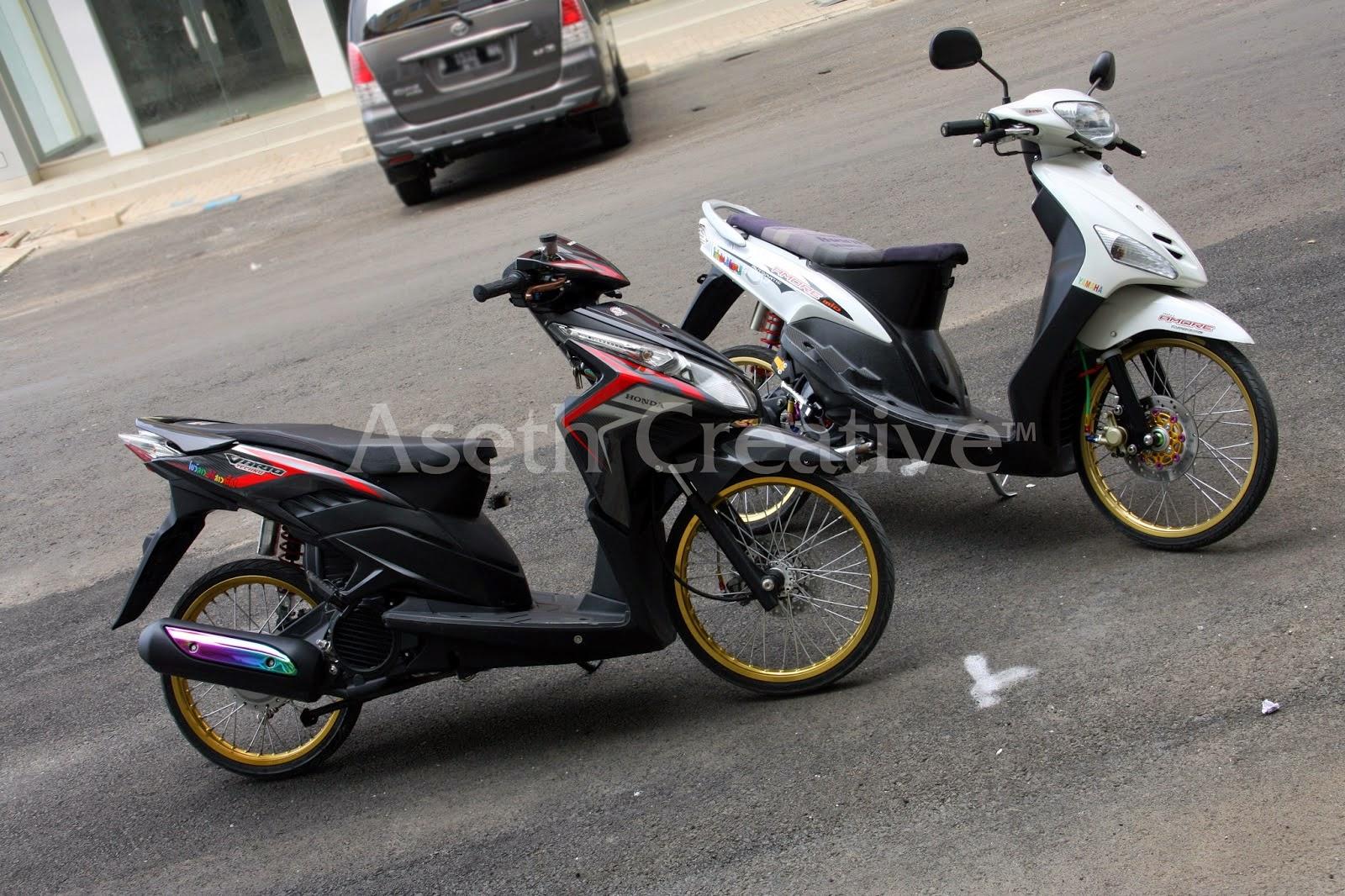 Honda Vario Modifikasi Simple Thecitycyclist