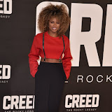 OIC - ENTSIMAGES.COM - Fleur East at the  Creed - UK film premiere at the Empire Leicester Sq London 12th January 2016 Photo Mobis Photos/OIC 0203 174 1069