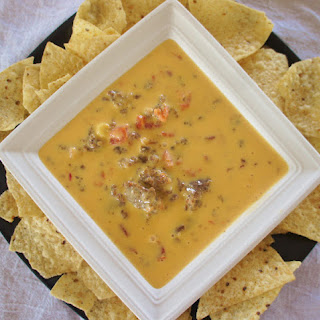 Recipe for (One Dish) Slow Cooker Velveeta Rotel Dip