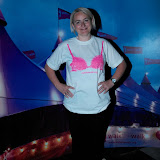 WWW.ENTSIMAGES.COM -    Emma Kennedy  taking part in    The MoonWalk London May 11th 2013                                                   Photo Mobis Photos/OIC 0203 174 1069
