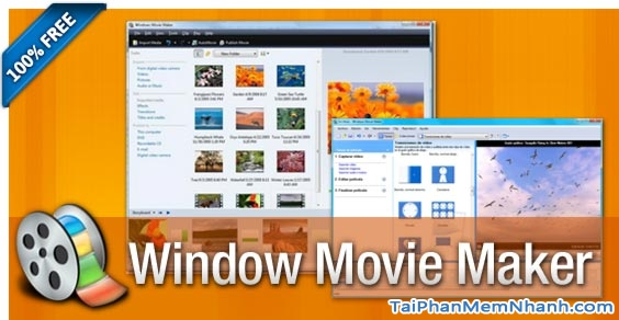 Chức năng của phần mềm Windows Movie Maker
