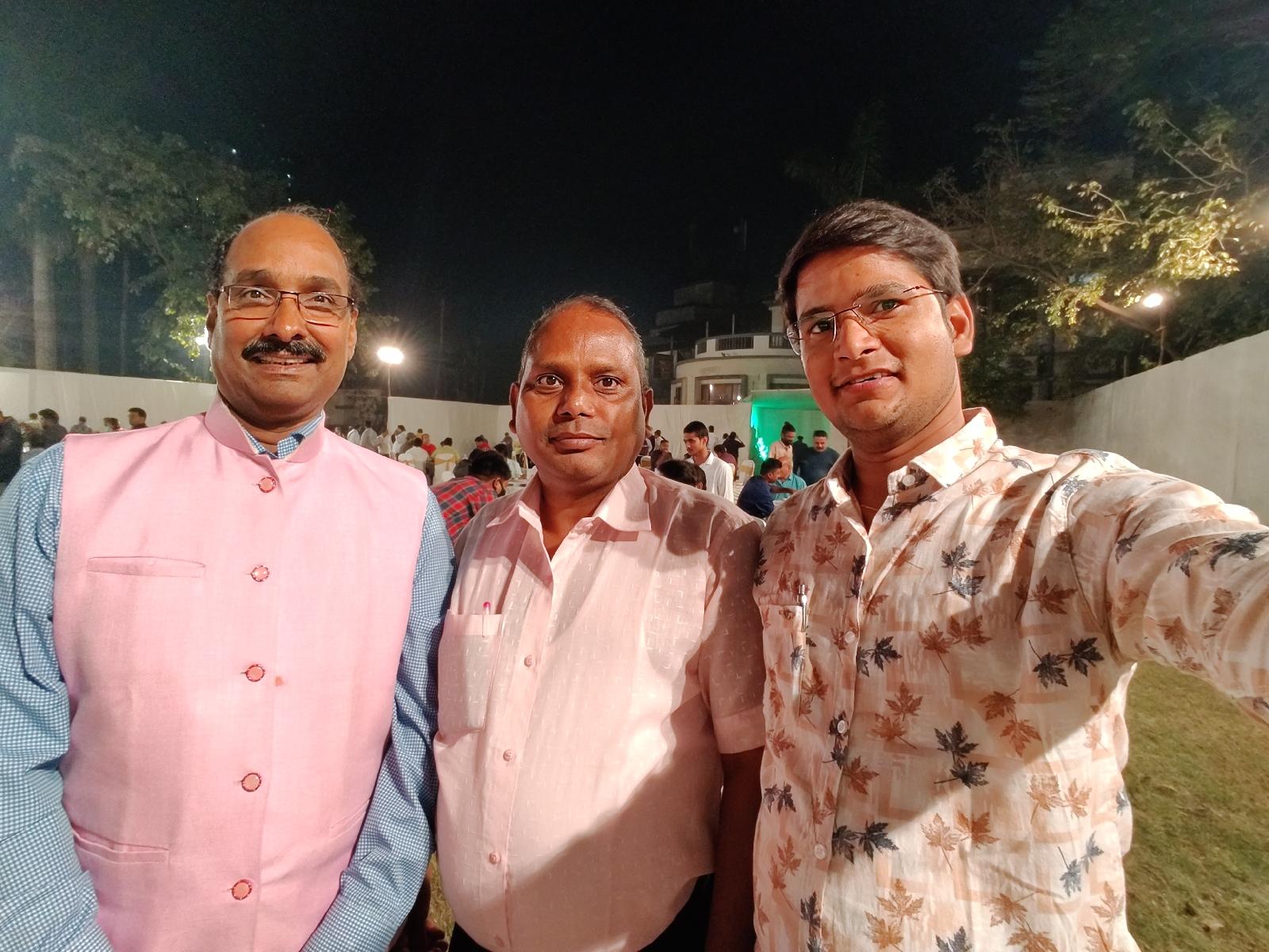 मुम्बई उपनगर पत्रकार संघ के लिट्टी चोखा प्रोग्राम में शामिल होने का सौभाग्य मिला।