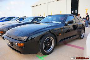 Black Porsche 944