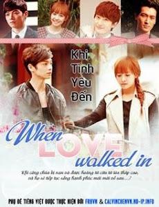 Khi Tình Yêu Đến ( Đài Loan) - When Love Walked poster