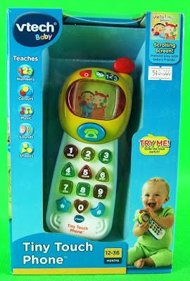 Hình ảnh hộp đồ chơi Điện thoại cầm tay Vtech Tiny Touch Phone