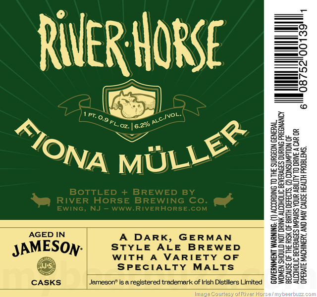 River Horse & Jameson Collaborate On Jaysus & Fiona Müller