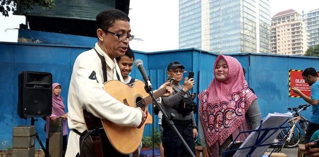 Puji Trotoar DKI, Bang Ancah: Waktu Bikin Pada Kesel, Sekarang Enak Kan?