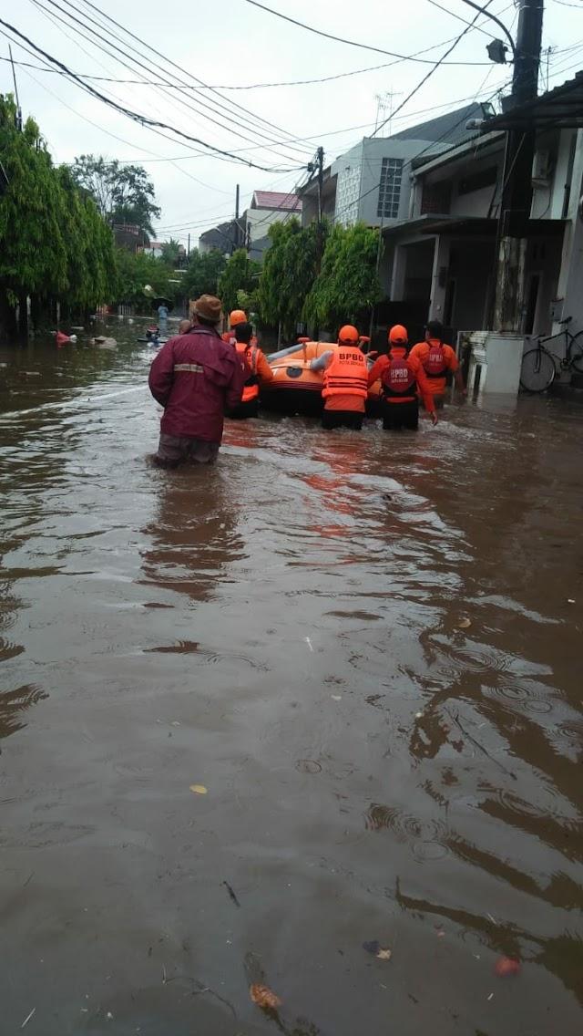 BPBD, Ada 22 Titik Genangan di 6 Wilayah Kota Bekasi