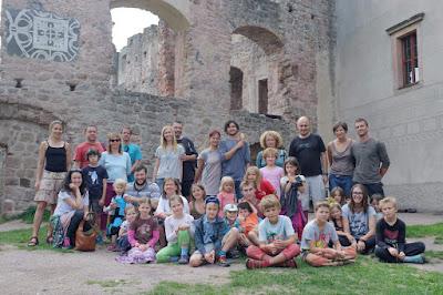Zeměkvítek na hradě Pecka - 3. září 2016