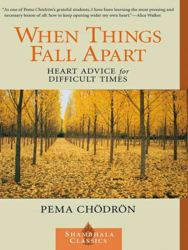 When Things Fall Apart Heart Advice For Difficult Times Ebook By Pema Chodron Epubmobi