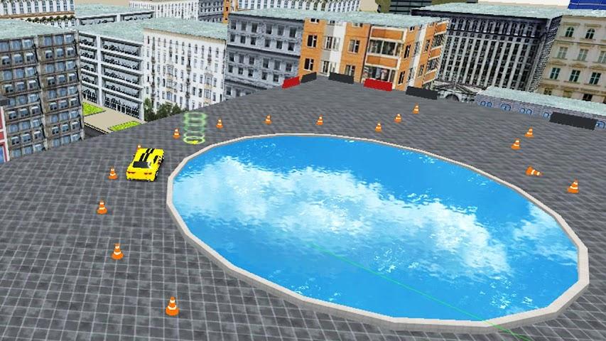 android Rooftop Car Stunts Screenshot 4