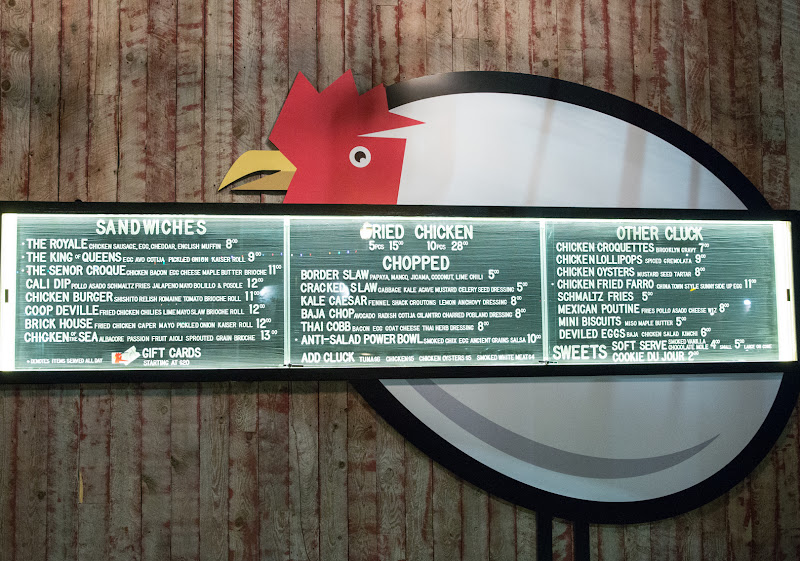 photo of the The Crack Shack menu