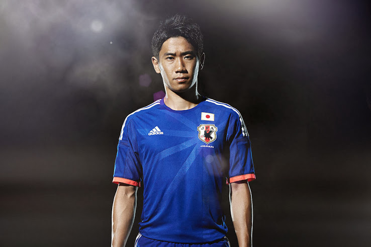 492bdd3dc Japan Home Kit 2014 FIFA World Cup Adidas Shirt Released