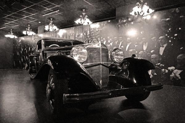 L'auto dei gangster di Damiano