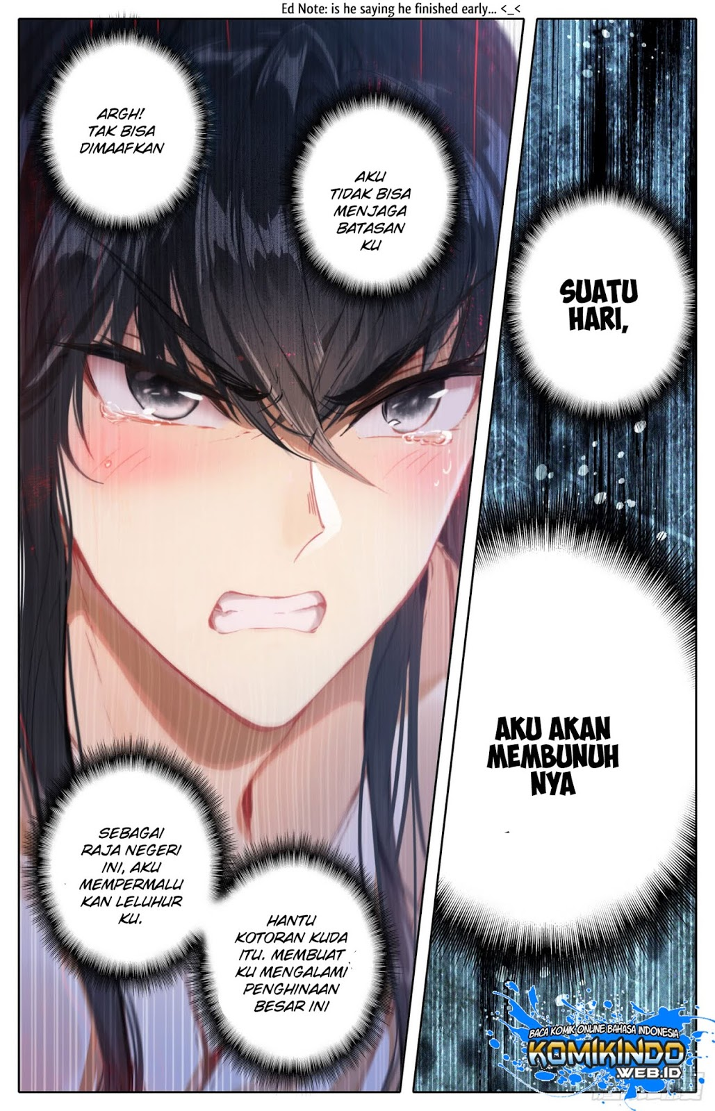 Legend of the Tyrant Empress Chapter 15