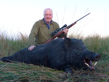This big wild boar taken by Mr Taylor at Carmor Plains is hard to beat..... anywhere. 120kg and 20+cm tusks, this is a trophy of a lifetime