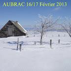 Traversée de l'Aubrac - 16/17 Février 2013
