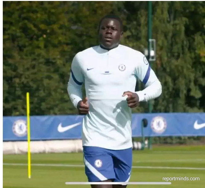Chelsea S New Signing Malang Sarr Trains At Cobham For The First Time Report Minds