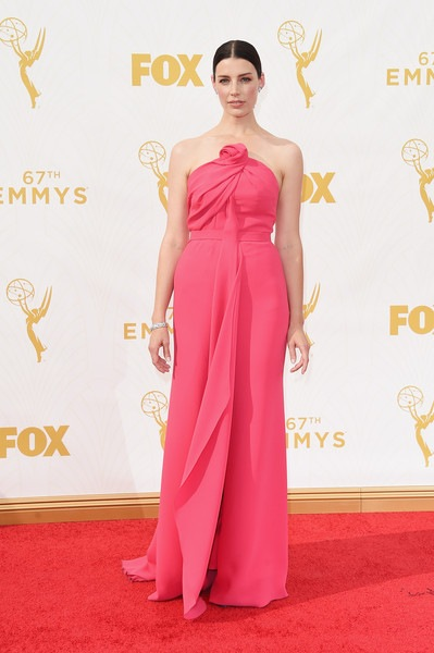 Jessica Pare attends the 67th Annual Primetime Emmy Awards