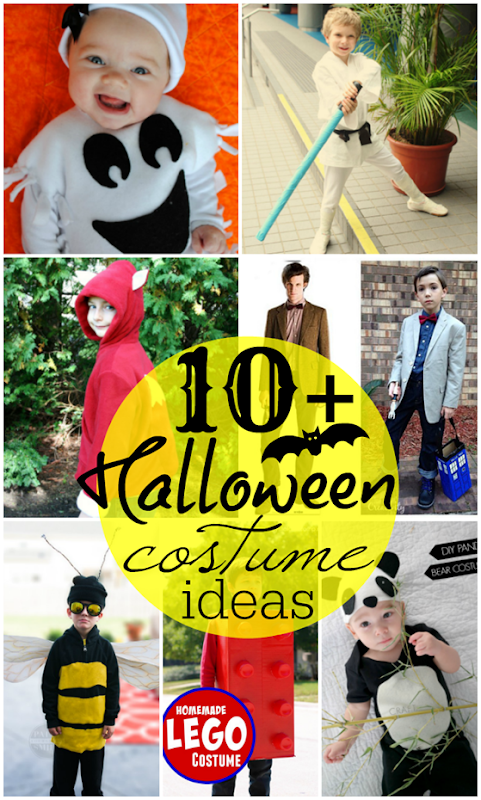 10  Halloween Costume Ideas at GingerSnapCrafts.com #Halloween #DIY #costumes