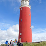 the Texel lighthouse in Texel, Noord Holland, Netherlands