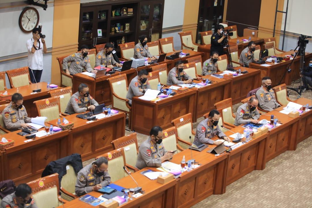 Menuju Perubahan, Komisi III DPR Yakin Publik Merasakan Transformasi Organisasi Polri Kearah Modern
