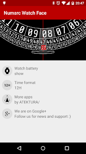 Numarc Watch Face- screenshot thumbnail