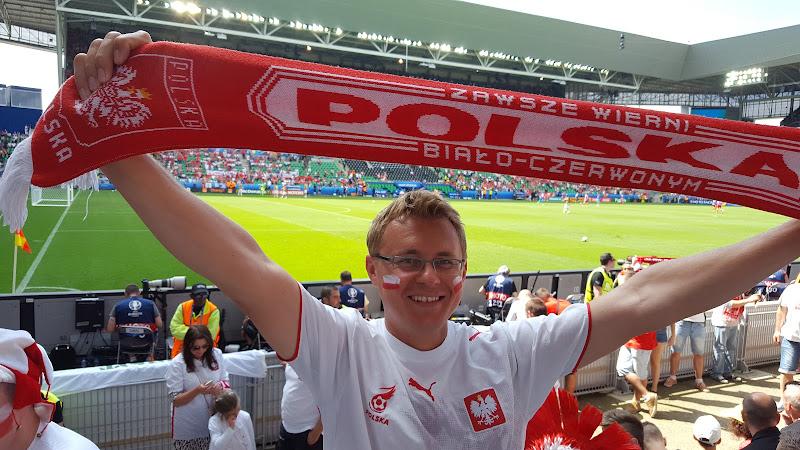 Francja, EURO 2016, cz. VI: Polska - Szwajcaria w Saint-Etienne..
