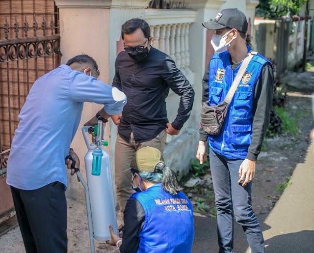 Pemkot Bogor Siapkan Isi Ulang Oksigen di Setiap Kecamatan