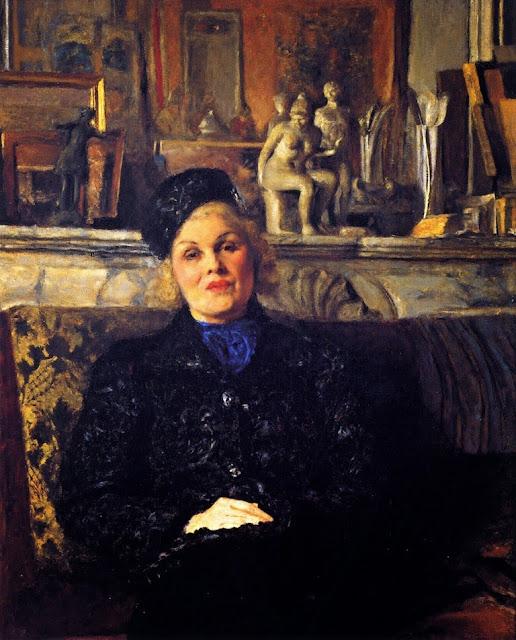 Edouard Vuillard - Elvire Popesco
