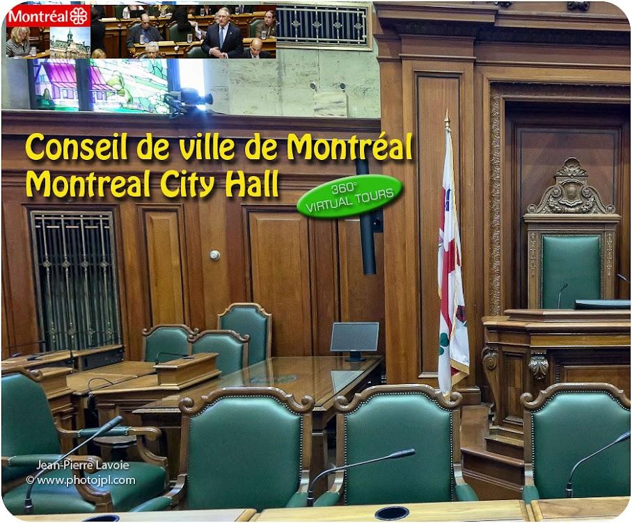 salle de conseil de ville Montréal