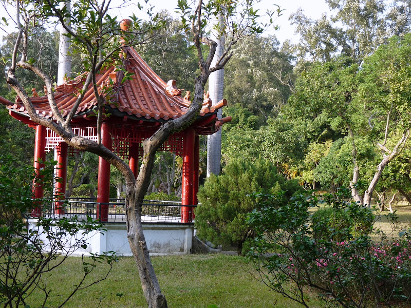 TAIWAN.Taipei. Dans le jardin de lune des nombreuses résidence présidentielle de CKS - P1050059.JPG