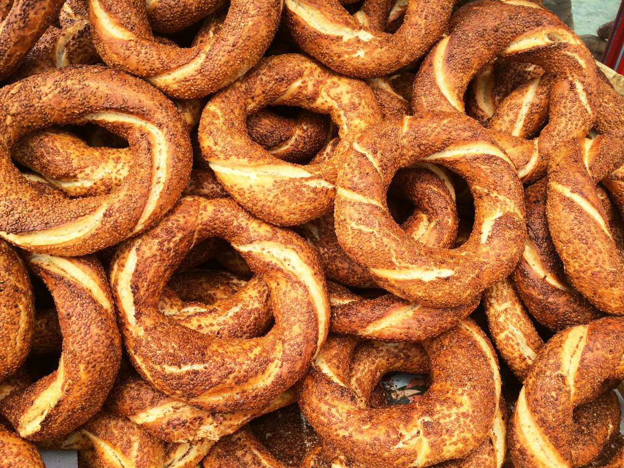 simit turkish circular bread
