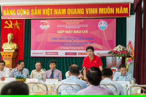 Hình 1: Đoàn thể thao Việt Nam tại SEA Games 28 sẽ sử dụng các chuyến bay của Vietjet