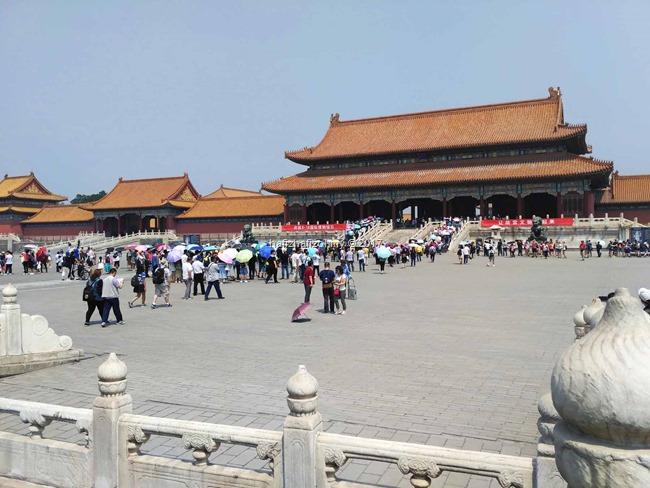 gambar cantik di forbidden city beijing