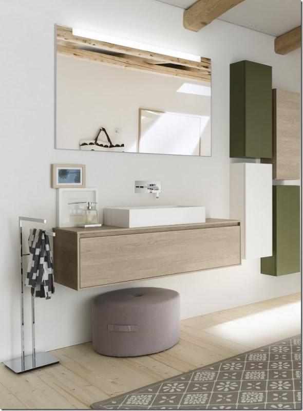 Il progetto perfetto per il bagno beinda case e interni - Mobili bagno provenzali ...