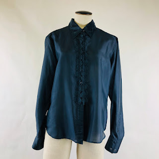 *CLEARANCE* Yves Saint Laurent Rive Gauche Blouse