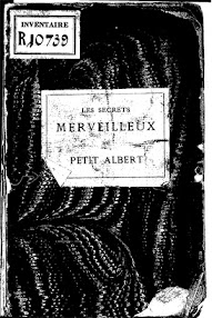 Cover of Petit Albert's Book Les Secrets (1867,in French)