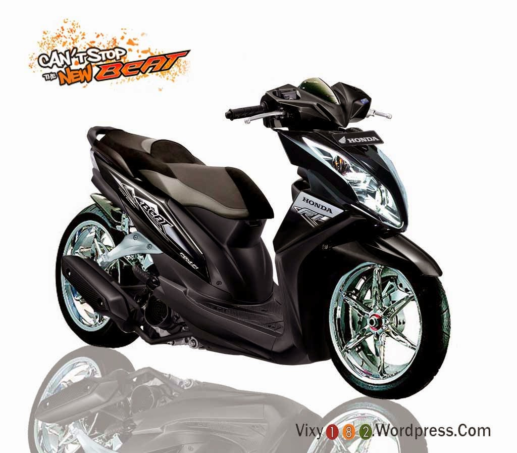 Modifikasi Honda Beat Cw F1