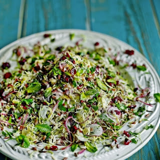 Wild Rice & Brussels Sprout Super Salad Recipe