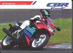 Honda CBR600F2 91