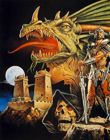 Warrior And Evil Dragon, Magic Animals 2