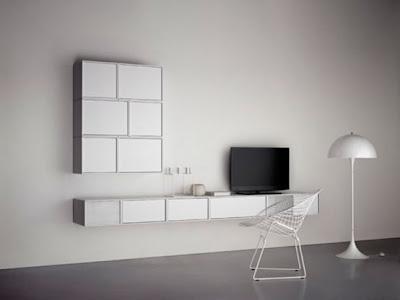 minimalist colorful furniture for home and office 1 554x416 Rak Dan Laci Modular Minimalis Yang Berwarna Warni