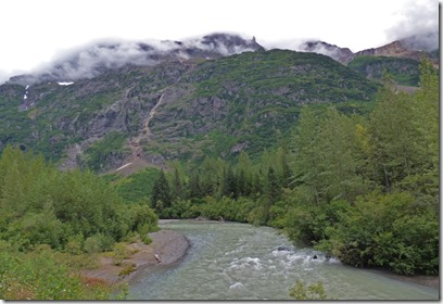 Bear River along Glacier Highway