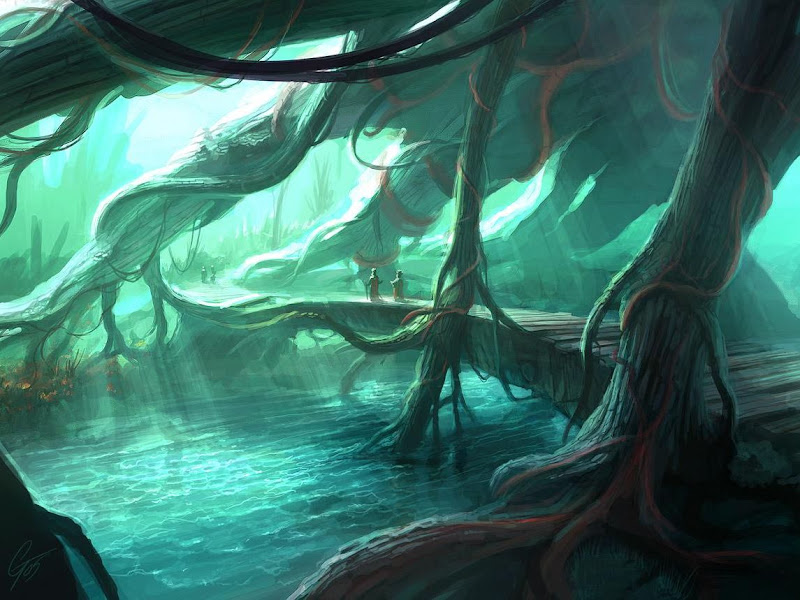 Sorrow Of Lands 16, Magical Landscapes 6