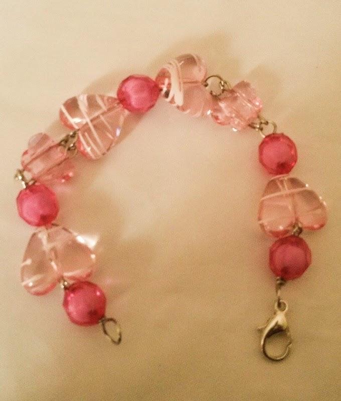 Bracelet In Sweet Pink