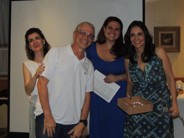 Confraternizacao 2015  Danielle Paimentel, Mauro, JUliana Lauria e Dra, Tania Guerreiro